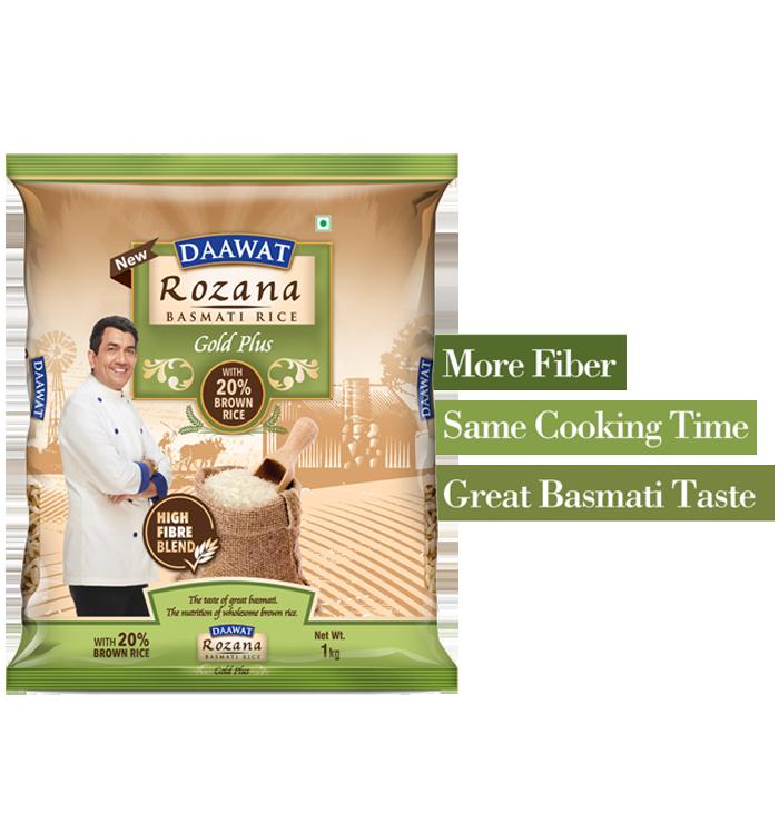 Daawat Rozana Basmati Rice Gold